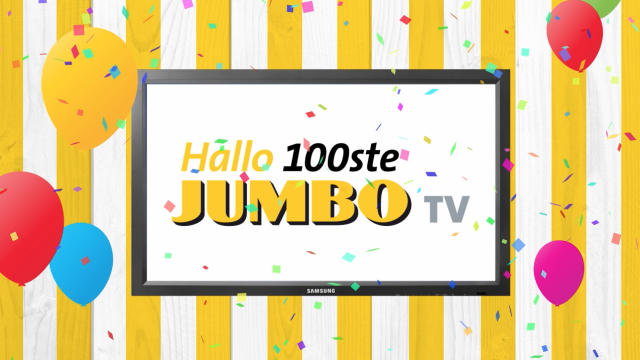 100th Jumbo TV location