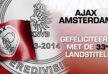 Ajax champion 2013-2014